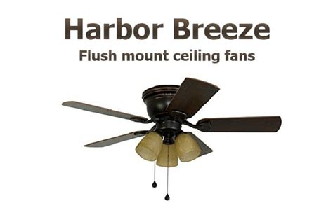 harbor flush mount ceiling fan harbor outlet