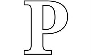 Letter P Template by 8 Best Images Of Letter P Printable Templates Free