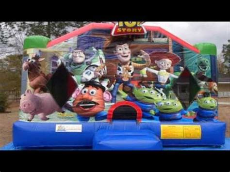 bounce house columbia sc toy story bounce house columbia sc inflatable moonwalks youtube