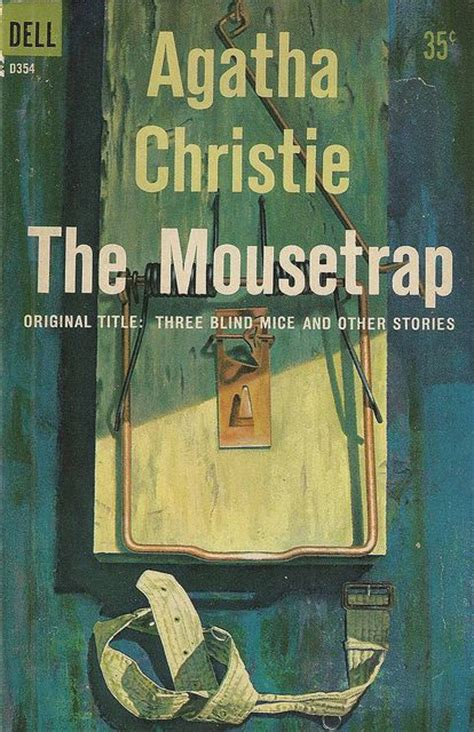 libro agatha christie little people dell books d354 agatha christie the mousetrap libros