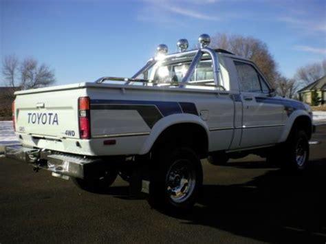 Garage Sales Tacoma Sell Used 1983 Toyota Sr5 4x4 100 Rust Free Garage
