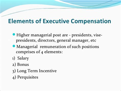 Executive Mba Tax Deduction by Executive Compensation