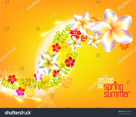 beautiful graphic design beautiful stylish digital floral graphic design stock