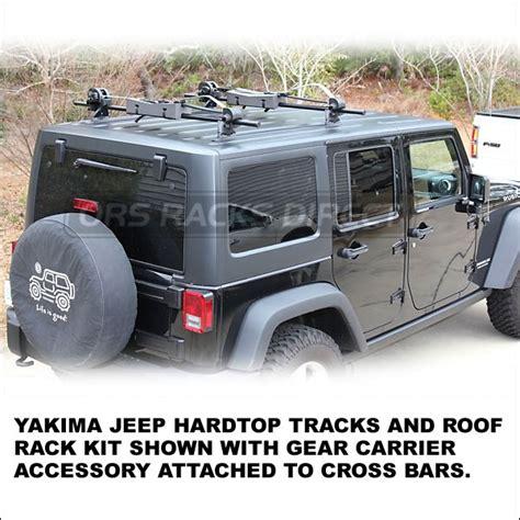 Yakima Jeep Yakima Jeep Wrangler Hardtop Roof Rack Tracks Kit Also