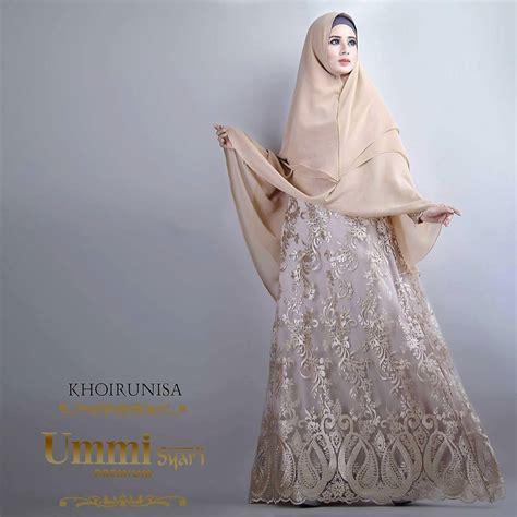 Baju Gamis Exclusive Mariam Syari 04 Kode 01 gamis limited edition pusat busana gaun pesta muslim modern