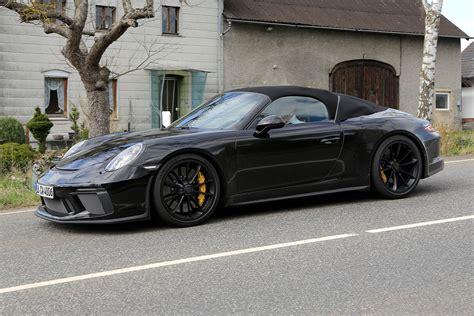 Speedster Porsche by New Porsche 911 Speedster Spied A Celebration Of The
