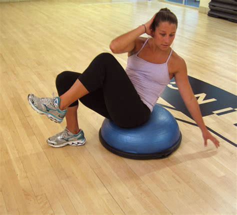 scissor abs the exercise ab credit bosu for your belly popsugar fitness