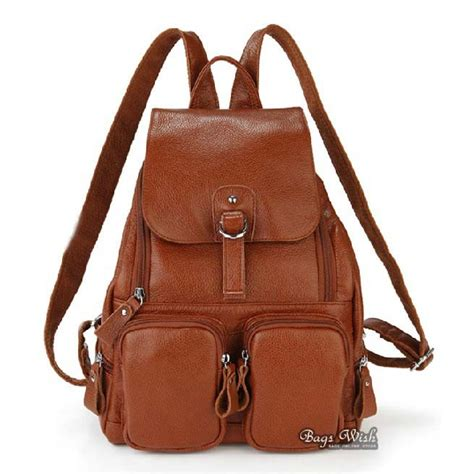 Fossil Bag 3in1 2883 brown leather backpack for backpacks