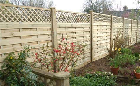 Small Lattice Fence Panels Horizontal Lattice Top Fence Panel Chart Fencing