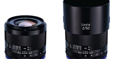 Hemat Lensa Zeiss Loxia 2 0 50 Manual Frame Lenses For Sony harga lensa zeiss loxia 50mm f2 lensa khusus pecinta foto portrait