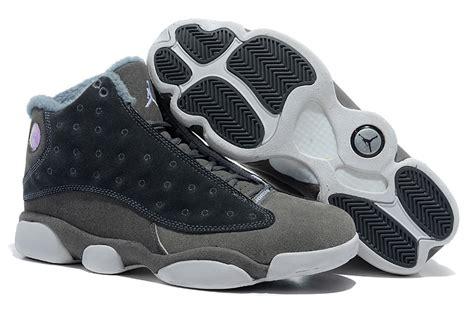comfortable white shoes comfortable air jordan 13 wool grey white shoes naj064