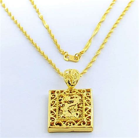 asian gold necklace