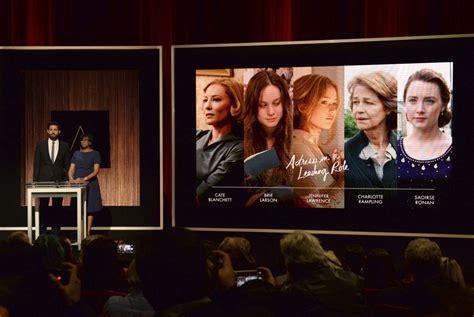 Room Oscar Nominations 2016 Oscar Nominations Honor Mad Max Room The