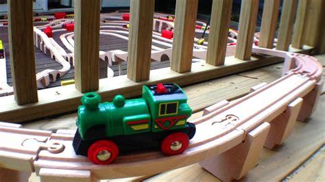 brio the greene massive wooden toy train set little green brio engine