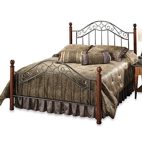 king bed rails buy hillsdale martino king bed with rails from bed bath