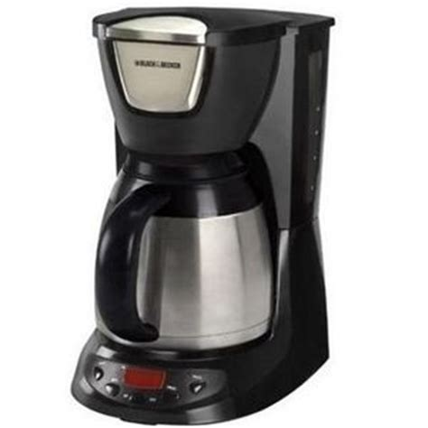 Black & Decker 8 Cup Thermal Carafe Coffee Maker DE790 Reviews ? Viewpoints.com
