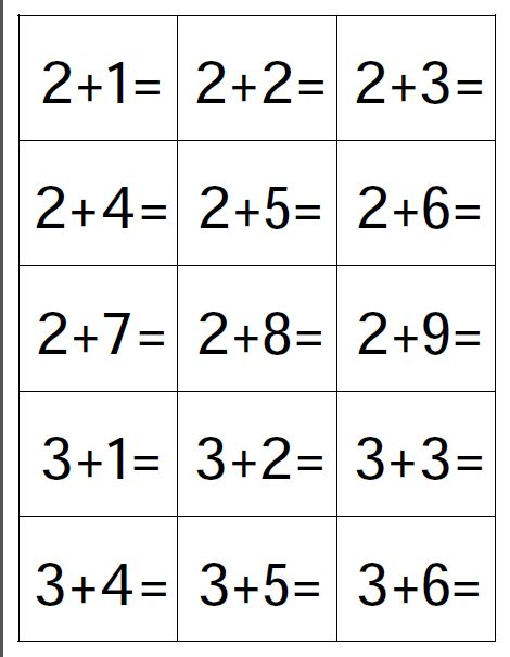 printable math flashcards addition 7 best photos of addition flash cards 1 to print free