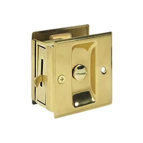 deltana sdl25 privacy pocket door lock low price door knobs