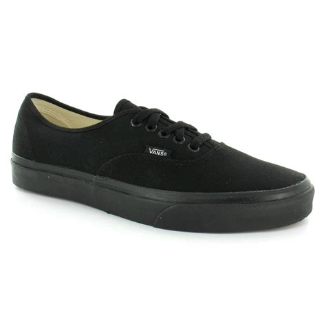 ebay vans vans authentic black black unisex trainers shoes ebay