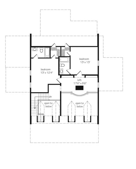 coastal living floor plans eastover cottage watermark coastal homes llc print