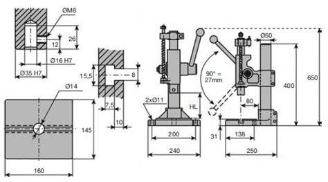 presse manuali da banco pressa manuale da banco componenti meccanici ct meca