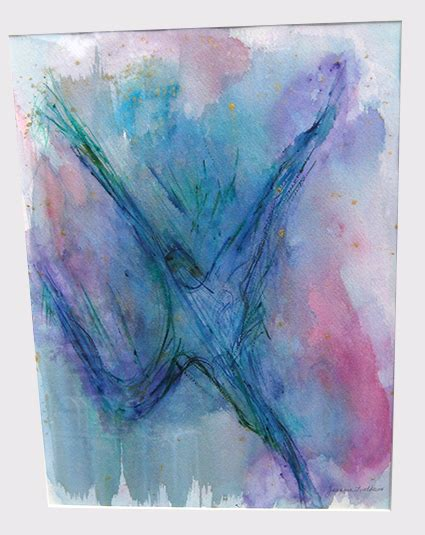 Andrew House Detox Ma by Original Watercolor Painting By Jeannie Lindheim Donated