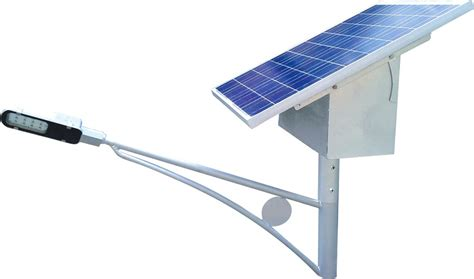 yellow solar led pole light dc 24 watt