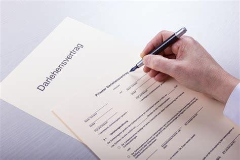 privat kreditvertrag formular kostenlos formular darlehensvertrag vorlagen und formulare