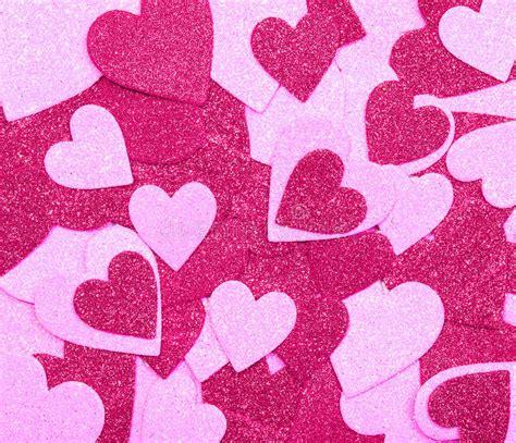 glitter valentine wallpaper glitter hot pink hearts background valentines day stock