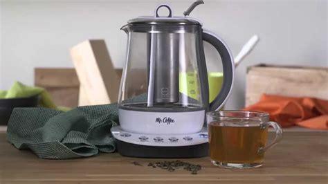 Tea And Coffee Maker Lunai Kettle 350ml mr coffee 174 tea maker and kettle