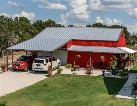 true american dream metal building barn home  wrap