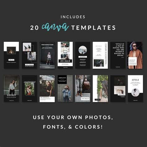 Instagram Story Templates For Canva For Effortless Profesional Content Instagram Story Template Canva
