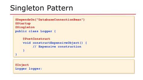 singleton pattern java enum exle se2016 java ee revisits design patterns 2016