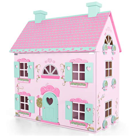 house of doll universe of imagination country mansion table top doll house only at toys r us ebay