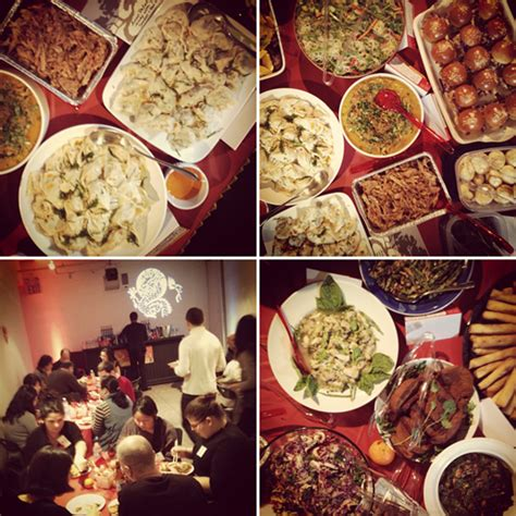 new year meal nyc cny potluck nyc year of the hungry rabbit