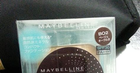 Bedak Maybelline Mineral fifi tiez review maybelline pact mineral powder