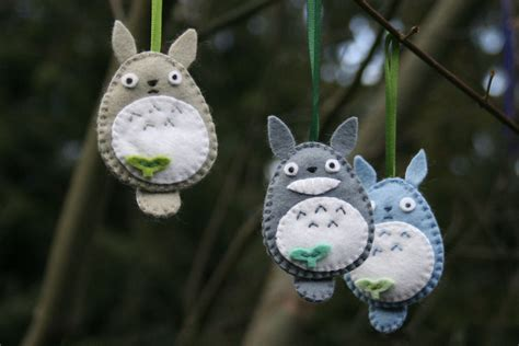 images of christmas ornaments crafts totoro ornaments craft c capers