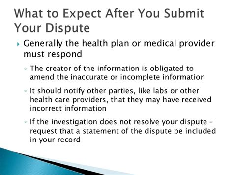 Hipaa Dispute Letter Identity Theft