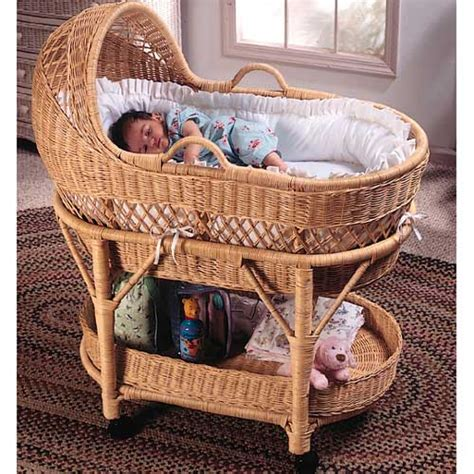 Bassinet Bedding by Baby Furniture Bedding White Wicker Designer Bassinet
