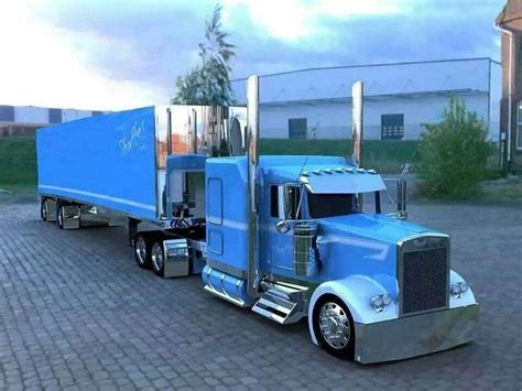 largest kenworth truck kenworth custom w900l with matching reefer trucks