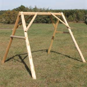 Patio Swing With Frame Lakeland Mills Cf400 Porch Swing A Frame For 4 Ft Swing