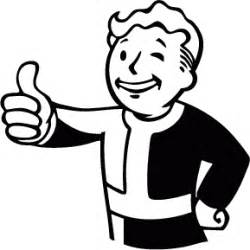 vault boy coloring page how to draw vault boy
