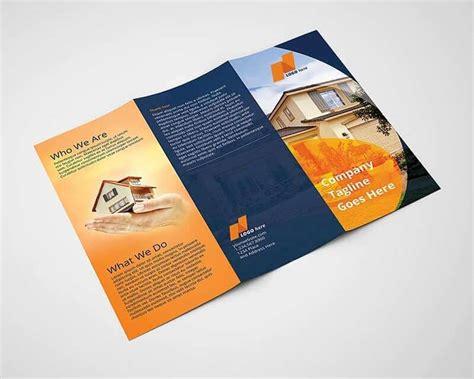 real estate brochure templates real estate tri fold brochure template on vectogravic design
