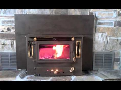 Hitzer 983 Coal Burning Fireplace Insert Youtube Coal Burning Fireplace Insert