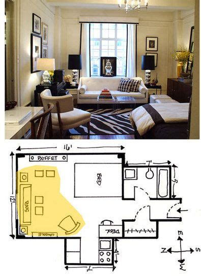 studio apartment arrangement studios small studio and floors on pinterest