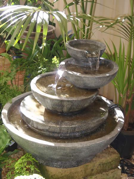 backyard water fountain how to build your own outdoor garden water fountain