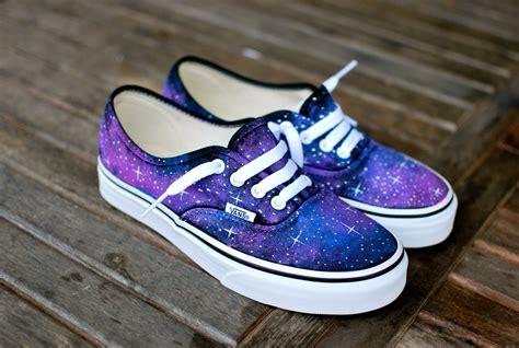 Sepatu Vans Spongebob galaxy vans schoenen aangepaste geschilderd galaxy op