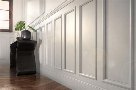Wainscot Design by Metrie Launches Wainscot Moulding For Wall Paneling