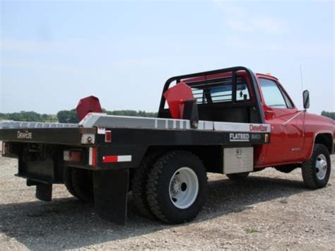 bale bed for sale buy used cab chassis dually 4x4 with dew eze bale bed