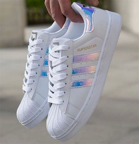 Adidas Fashion Led quot adidas quot fashion reflective shell toe flats sneakers sport shoes fitness fashion